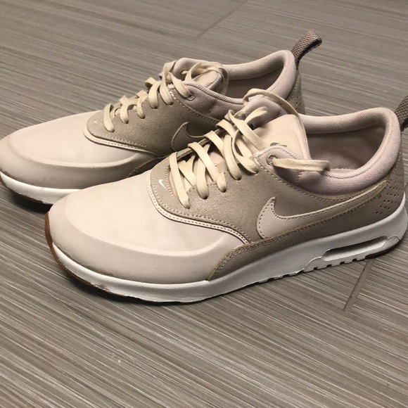 Nike air max thea in oatmeal, women's size US 7